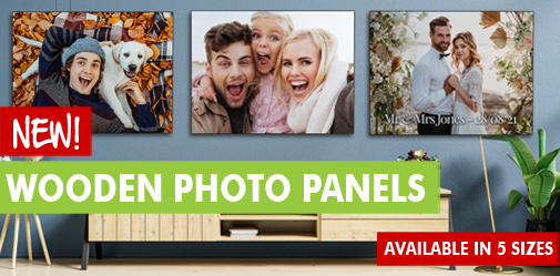 Personalised Wooden Photo Panels